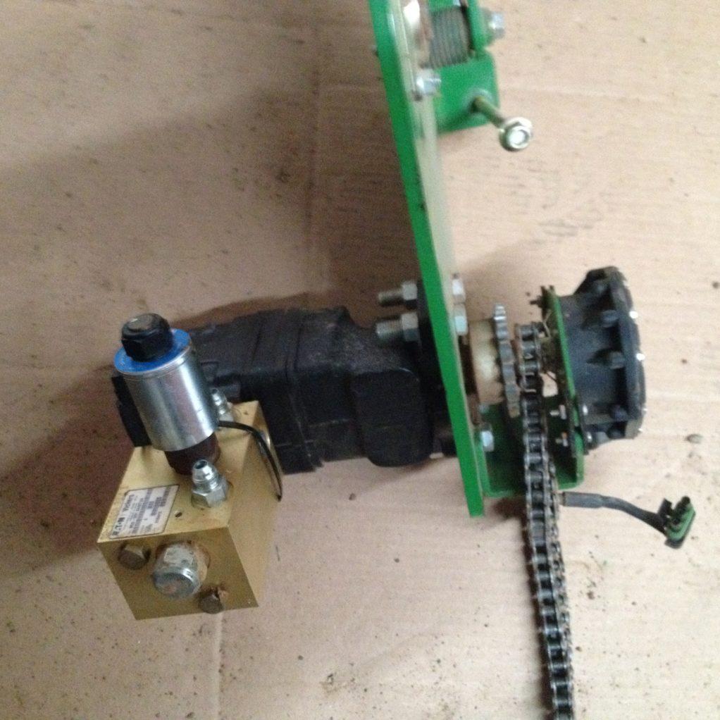 used john deere Hydraulic drive